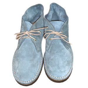 KATE SPADE NEW YORK Suede Chukka Boots Blue
